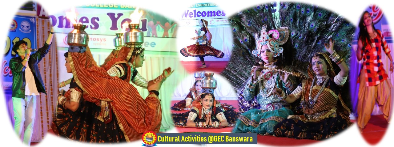 CULTURAL ACTIVITIES @ GEC BANSWARA